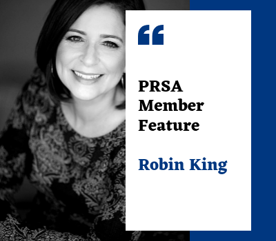 Q & A with PRSA Gulf Coast Member Robin King
