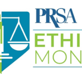 PRSA Celebrates Ethics Month